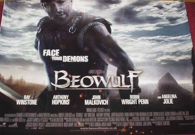 BEOWULF: UK Quad Film Poster