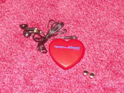NEVER BEEN KISSED: Promotional Mini Radio