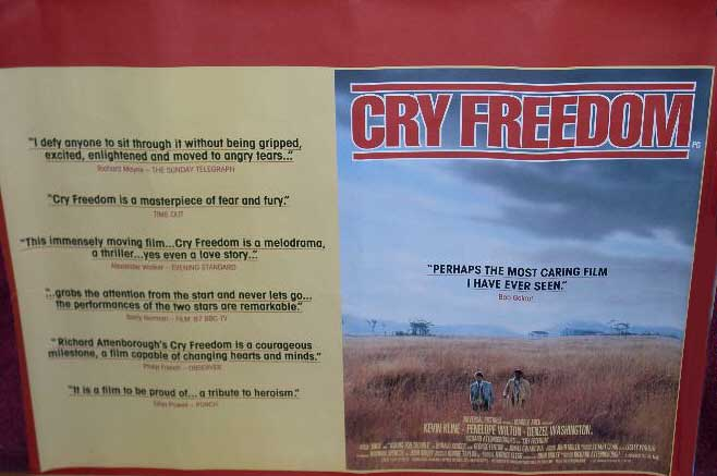 Cry Freedom Chapter Summaries Free Essays