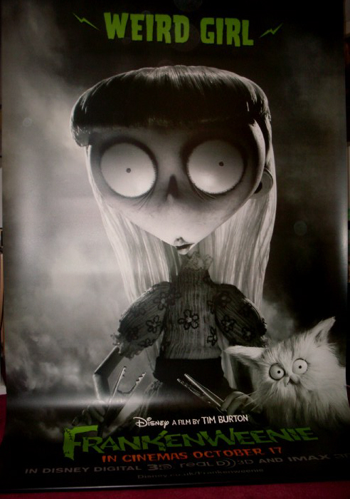 Frankenweenie Weird Girl FRANKENWEENIE 2012