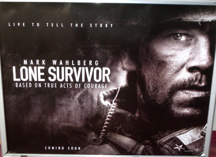 ... Film Posters) > LF - LZ (UK Quad Film Posters) > LONE SURVIVOR 2014 Lone Survivor Movie Filming
