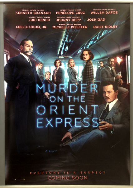 Cinema Poster: MURDER ON THE ORIENT EXPRESS 2017 (Main One Sheet) Johnny Depp