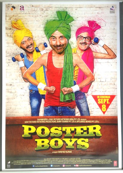 Cinema Poster: POSTER BOYS 2017 (One Sheet) Sunny Deol Bobby Deol