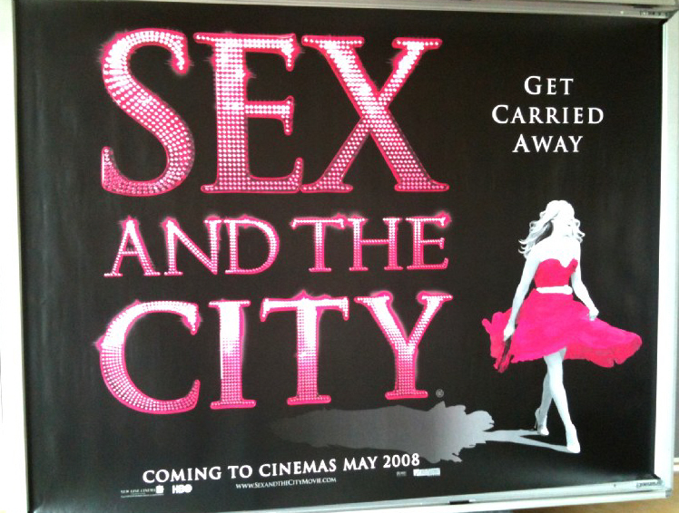 sex and the city standee