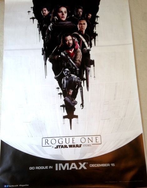 Cinema Poster: ROGUE ONE A STAR WARS STORY 2016 (Bus Shelter/Adshell)