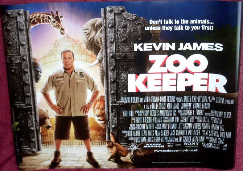Movie Posters 2011: ZOOKEEPER 2011